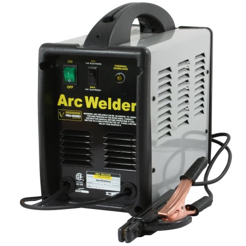 Lowest Prices! Pro-Series PS07572 120 Volt Arc Welder, Black and Gray