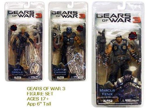 Neca - Gears of War 3 Series 1 Action Figure Case 18 cm (14)