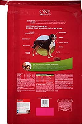 Purina ONE SmartBlend Dry Dog Food, Lamb & Rice Formula, 31.1-Pound Bag, Pack of 1 from ONE Dog
