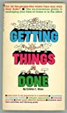 echange, troc Edwin C Bliss - Getting things done: The ABC's of time management