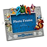 Disney World 2014 Sorcerer Mickey & Friends Sculptered 4x6 Resin Photo Frame
