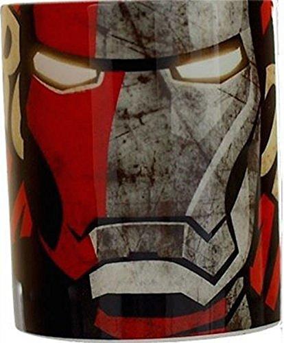 Tazza Iron Man THE AVENGERS mug eroi marvel capitan america hulk gadget idea regalo oggettistica