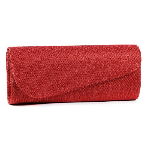 Damara-Womens-Oblique-Flap-Glitter-Clutch-Handbags