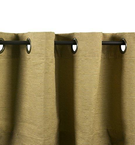 """Brielle Beckett Grommet Panel, 95"""", Camel"""
