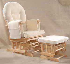 Serenity (natural) Nursing Glider maternity chair by Kidzmotion