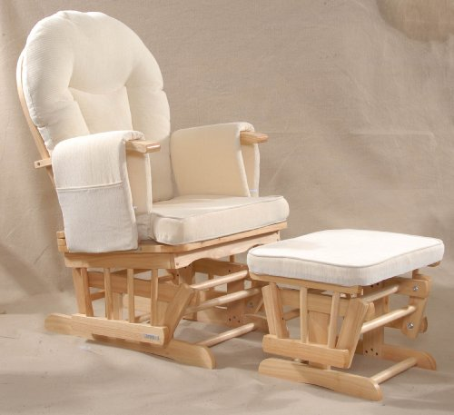 Serenity (natural) Nursing Glider maternity chair