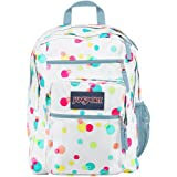 "JanSport Big Student Backpack - Pink Pansy Confetti Dots / 17.5""H x 13""W x 10""D"