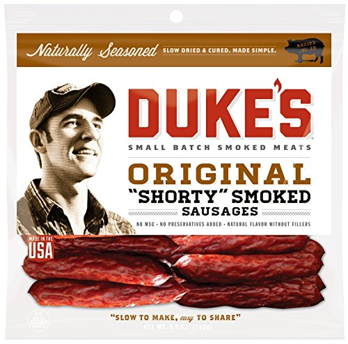 Dukes Original Shorty Smoked Sausages 8 pk - Packaging May Vary (Sausage Packaging compare prices)