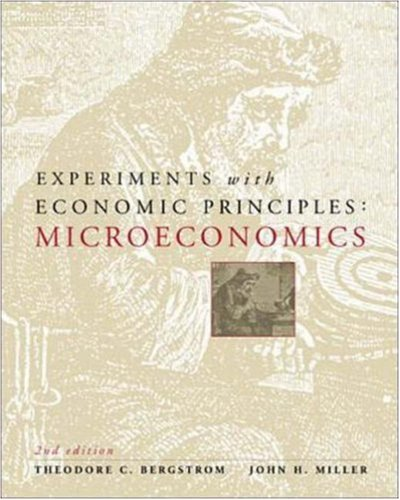 Experiments with Economic Principles: Microeconomics
