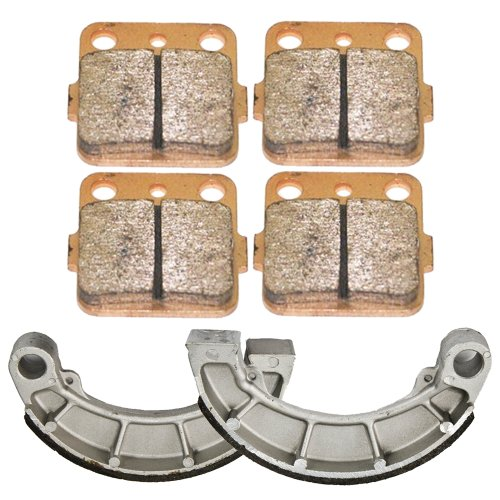 Front and Rear Brake Pads Shoes for Honda TRX 420 Rancher 2007-2015 (2011 Honda Rancher 420 compare prices)