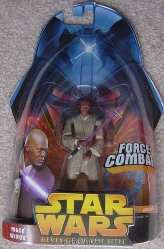 Mace Windu (Force Combat!) from Star Wars - Revenge of the Sith Collection 1 - 1