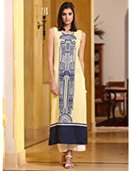 Fashion Galleria Women's Semi-stitched Straight Kurti