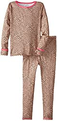 Cuddl Duds Little Girls'  Essential Long Underwear Set