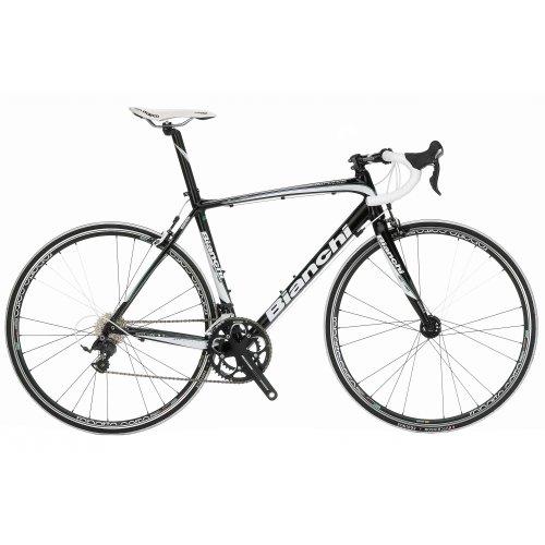 Bianchi Impulso Ultegra 10sp Compact black/white (2012) (B009KZTU20)