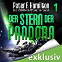 Der Stern der Pandora (Die Commonwealth-Saga 1) Audiobook by Peter F. Hamilton Narrated by Oliver Siebeck