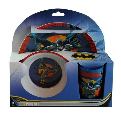Marvel Batman Dinnerware Set