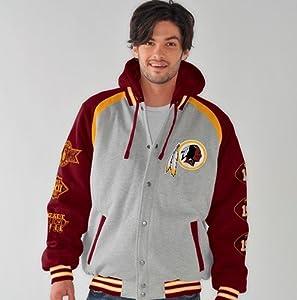 Washington Redskins NFL ROY Super Bowl Commemorative Detachable Hooded Jacket by G-III Sports