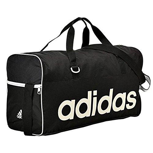 Adidas M67871 Lin Per Tb Borsa da Uomo, Nero / Bianco, M