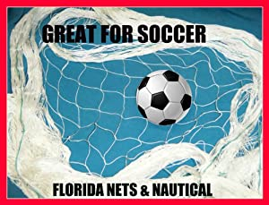 Buy 10 X 25 Soccer, Basketball, Softball, Sports, Fishing Net, Barrier, Backstop, Fish Net, Netting, Cage, by Florida Nets