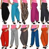 Pantalon pour femme enceinte schwangerschaftshose umstandshose pantalon de grossesse en 25 couleurs -  Gris - Taille unique...