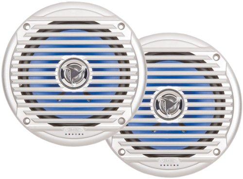 """Jensen Marine Msx60Sr 6.5"""" 130 W Silver Coaxial Marine Speaker"""