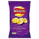Walkers Crisps - Worcester Sauce (6x25g)