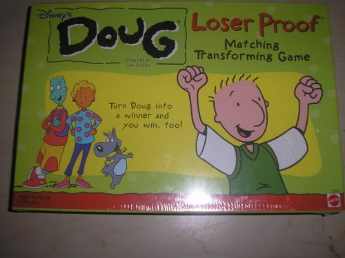 Disney's Doug Loser Proof; Matching Transforming Game - 1