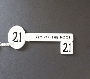 21st birthday key to the door gift for 18th key of the door