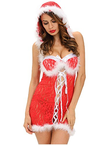 14d222581faea (click photo to check price). 5. Women Christmas Miss Santa Clause ...