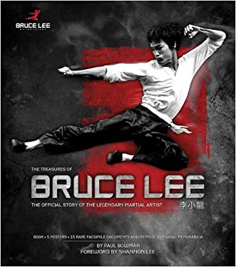 The Treasures of Bruce Lee written by Paul Bowman