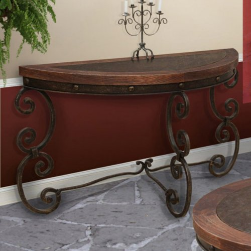Cheap Artisan Cantabria Stamped Console Table (IFD365SOFA)