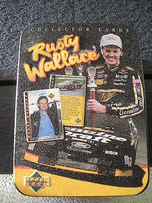 Rusty Wallace 20 Upper Deck Metal Collector Cards
