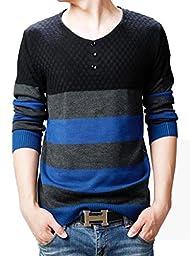 Wantdo Men Plus Size Shawl Collar Cardigan Sweater Black Small/Tag 2XL,Black,US Small,Asian size XXL