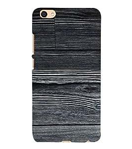 PrintVisa Plain Wooden Pattern 3D Hard Polycarbonate Designer Back Case Cover for VIVO X7L