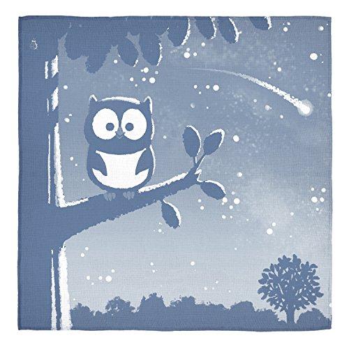 Apple Park Owl Jacquard Muslin Blanket