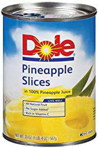 Is Dole Pineapple Slices Gluten Free Amazon.com : Dol...