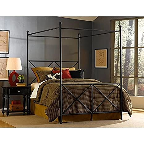 Metro Shop Excel Queen-size Canopy Bed by Fashion Bed Group-Queen size