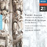 Fauré requiem/durufle requie