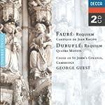 Requiem/Cantique/Quatre Motets