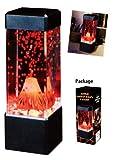 海底火山が噴火!幻想的な雰囲気を演出します☆【50568 ボルケーノLEDアクアランプ22cm】アメリカン雑貨 アメリカ雑貨 火山