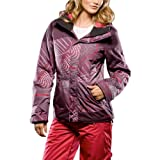 Oakley Ladies Eaves Snow Jacket - Purple Orbit - Extra Large