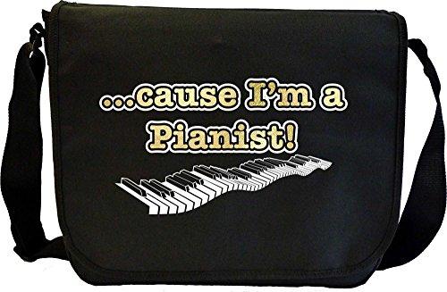 Piano Cause - Sheet Music Document Bag Borsa Spartiti MusicaliTee