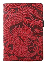 Leather Portfolio Notebook | Cloud Dragon | Handmade in the USA by Oberon Design