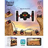 Parrot-Jumping-Sumo-Minidrone-WiFi-Wide-Angled-Kamera-schwarz