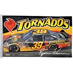 #39 Ryan Newman Flag 3x5 Tornados Car by WinCraft