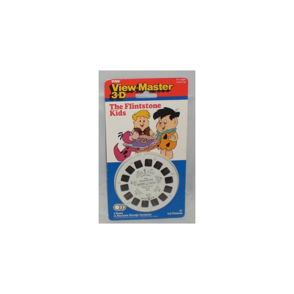 Flintstone Kids View Master 3 Reel Set   Hanna Barbera