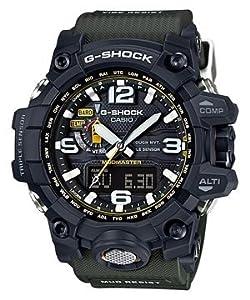 Casio G-Shock Black Resin Analog-Digital Quartz Men's Watch GWG1000-1A3