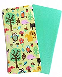 Set of 2 Book Covers: Standard Size - Forest Critters Set