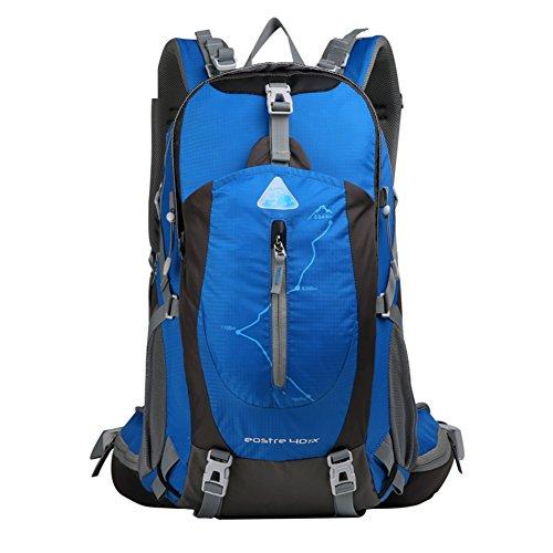 Alpinisme sac / sac à bandoulière / grande capacité imperméable randonnée en plein air sac de sport sac à dos / loisirs / Voyage à dos de camping-bleu 40L