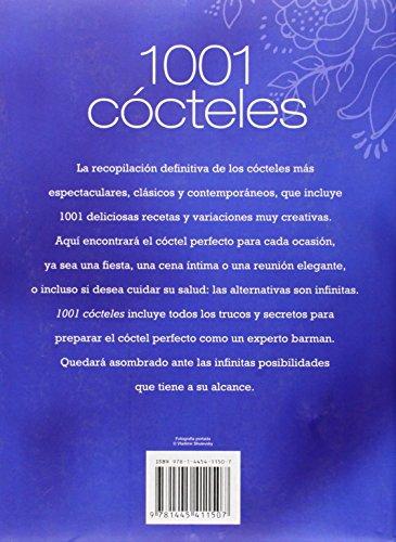1001 cocteles - deliciosas y efervescentes combinaciones (con lazo)